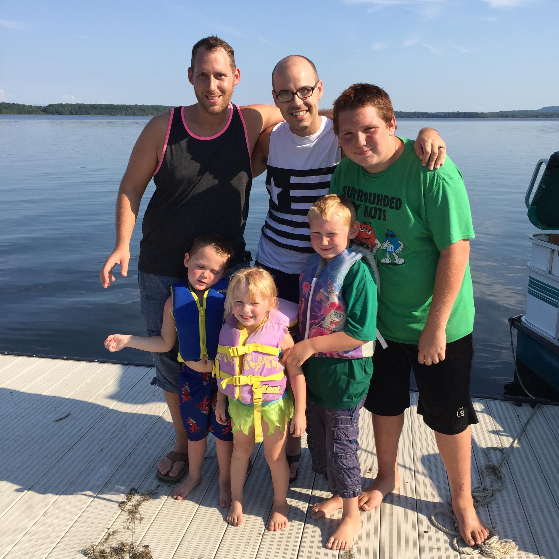 Blake Brett Family Life 02