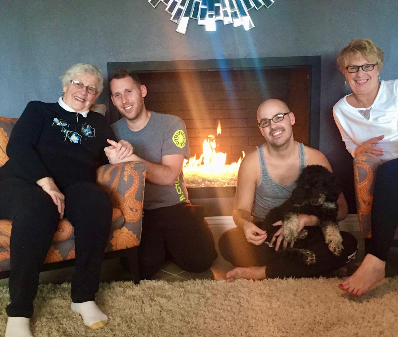 2-Brett Blake Family Life 03